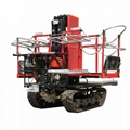 crawler type garden diesel engine transporter work platform