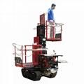 履帶自走式液壓昇降柴油果園昇降採摘工作平台 5