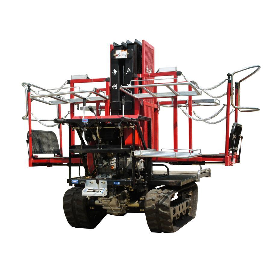 履帶自走式液壓昇降柴油果園昇降採摘工作平台 6