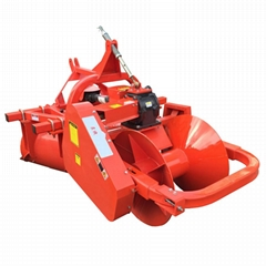 plow with ridge making machine