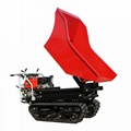 Mini Crawler type Pista Dumper with lift container