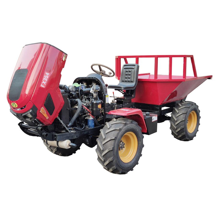palm garden Agricultural articulated transporter tractor