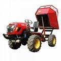 農用棕櫚園四驅運輸拖拉機