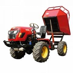 农用棕榈园四驱运输拖拉机