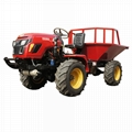 4WD Triangular Tracked transporter Tractor 5