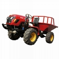 4WD Triangular Tracked transporter Tractor 7