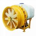 Air blast sprayer tractor mounted