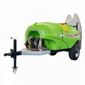 Trailer mounted type orchard insect fogger machine