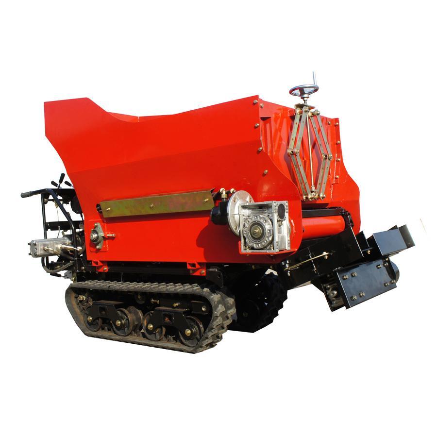 履带柴油液压马达土肥撒肥机