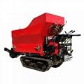 履帶柴油液壓馬達土肥撒肥機 2
