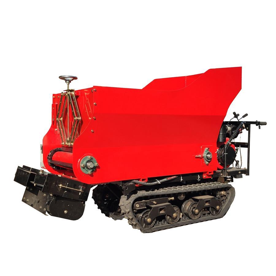 履帶柴油液壓馬達土肥撒肥機 3