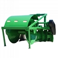 High efficiency paddy rice field tractor