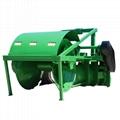 Farm paddy field tiller ridger making machine