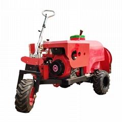 three wheel type  diesel engine garden air blast sprayer