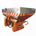 tractor mounted fertilizer spreader machine