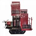 crawler type garden diesel engine transporter work platform