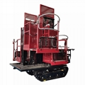 履帶自走式液壓昇降柴油果園昇降採摘工作平台 9