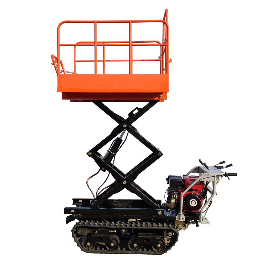 mini remote control crawler work platform  7