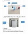 Mini handle gas engine garden air blast power sprayer   3WZ-15
