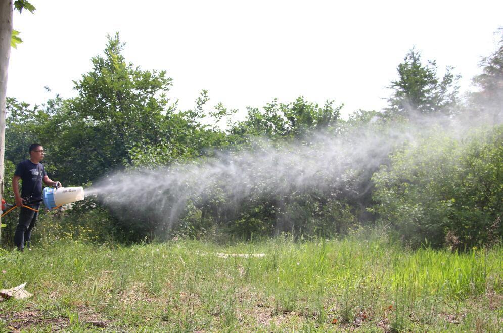 手持式超級遠程風送噴霧機 5