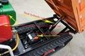 micro crawler dumper for palm garden