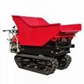 Mini Crawler type Pista Dumper with lift