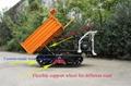mini transporter crawler dumper for palm garden