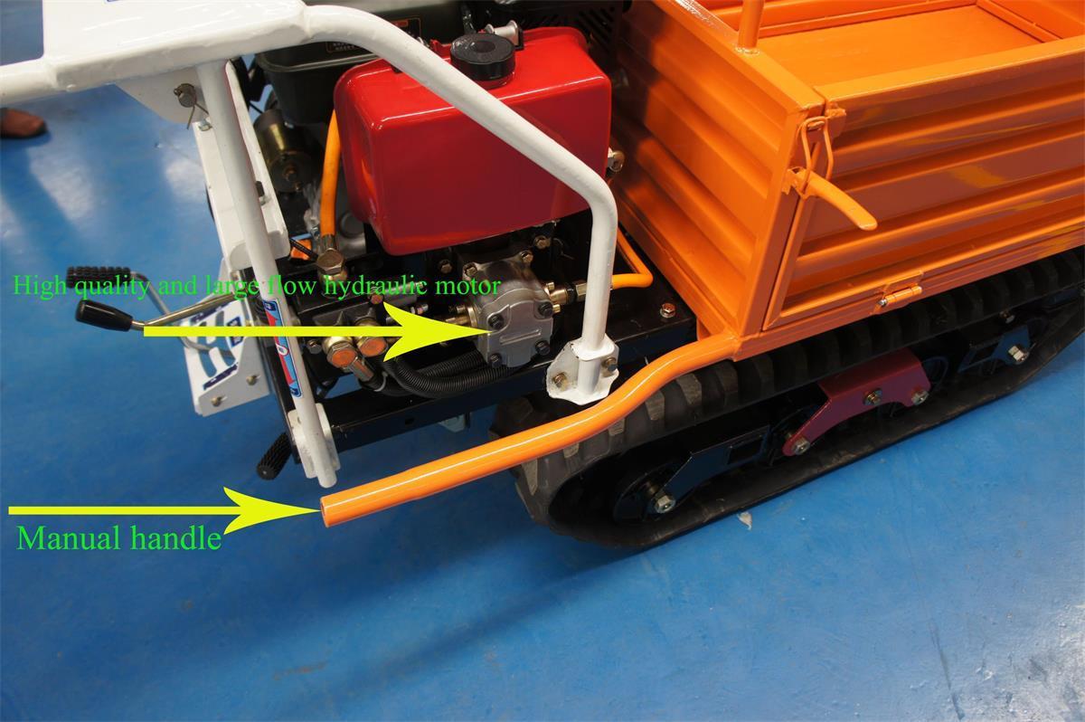 棕櫚果園柴油履帶柴油液壓翻斗車 15