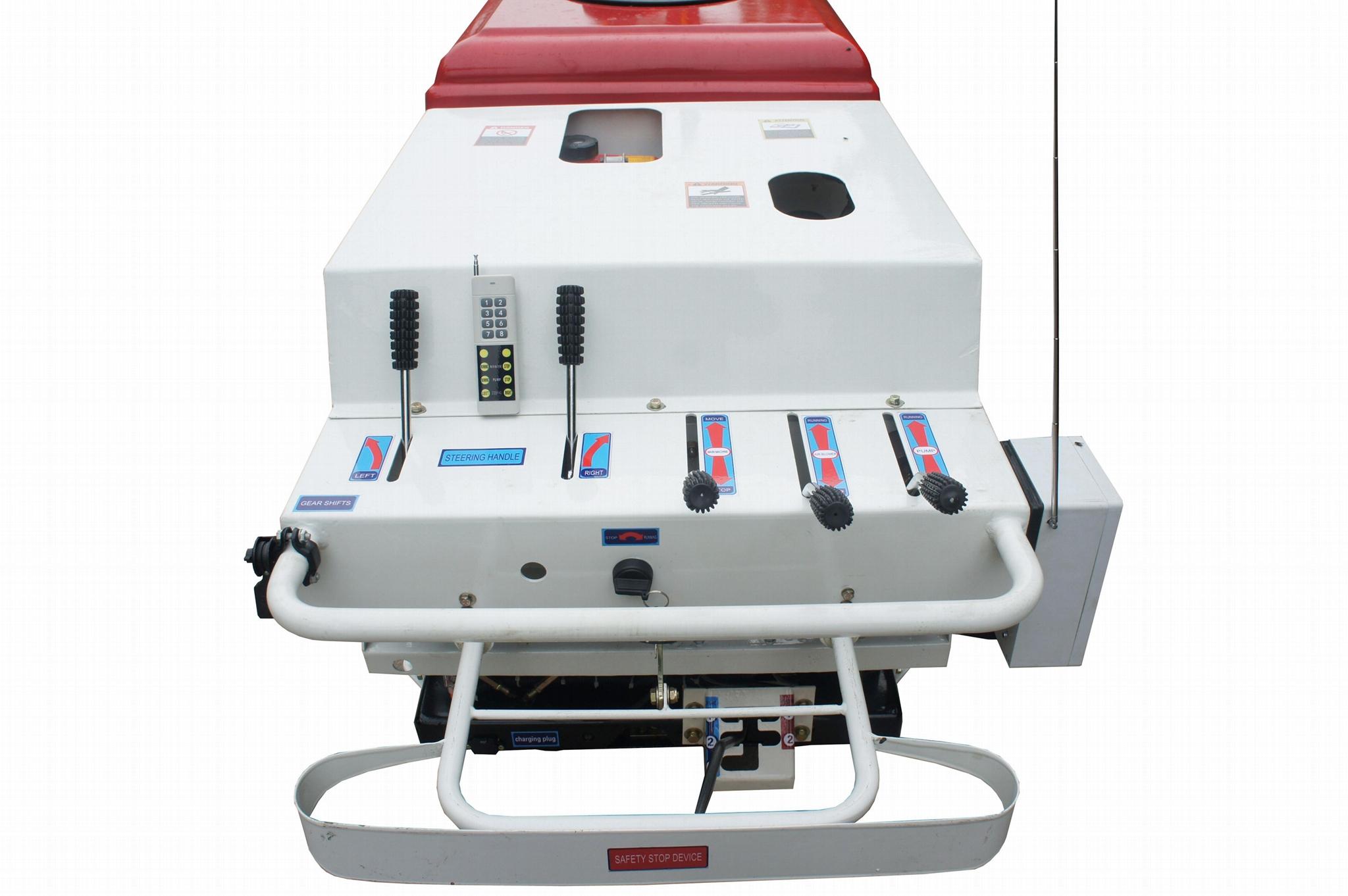 自走式履帶前置式風送噴霧機  3WF-350 6