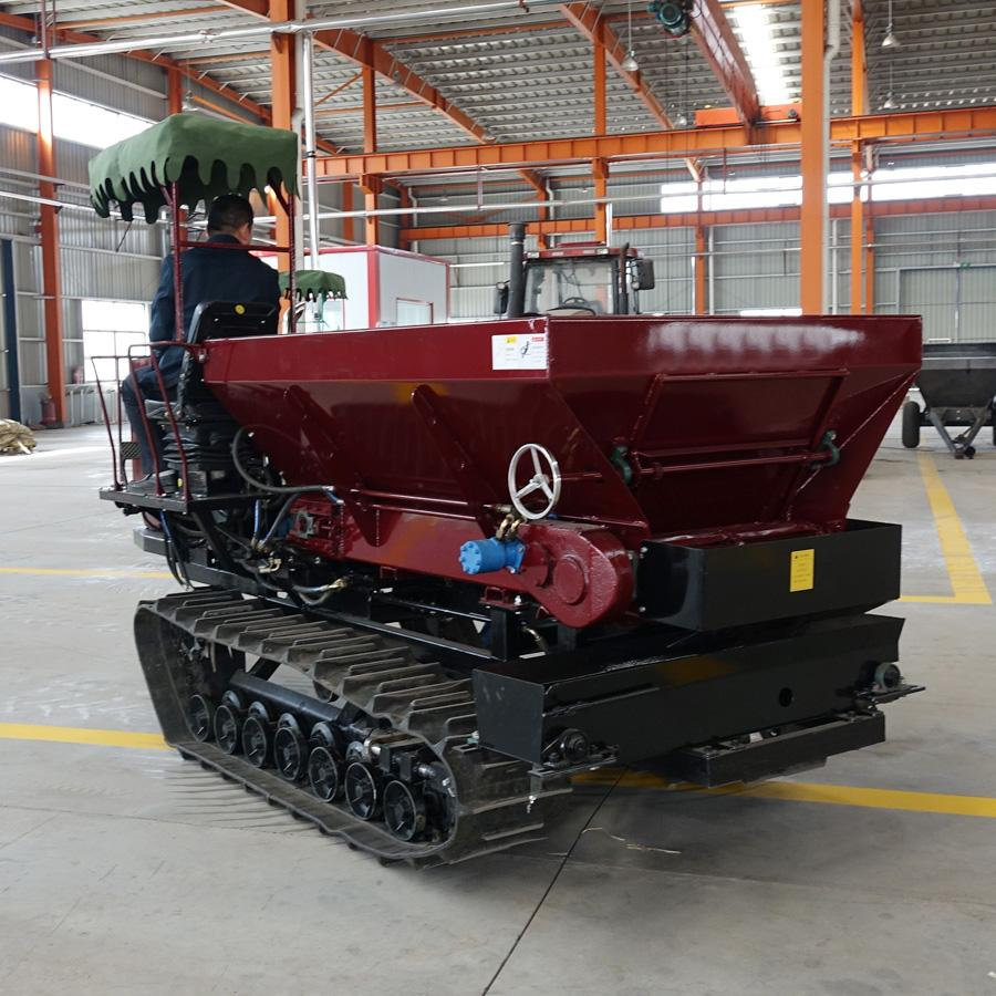 Crawler type Truck Muck Spreader for Solid Manure and Fertilizer 8