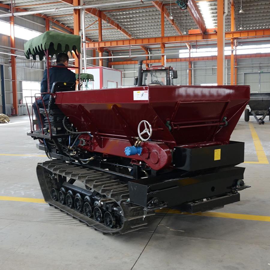 履带自走式柴油有机肥土肥抛洒机 8
