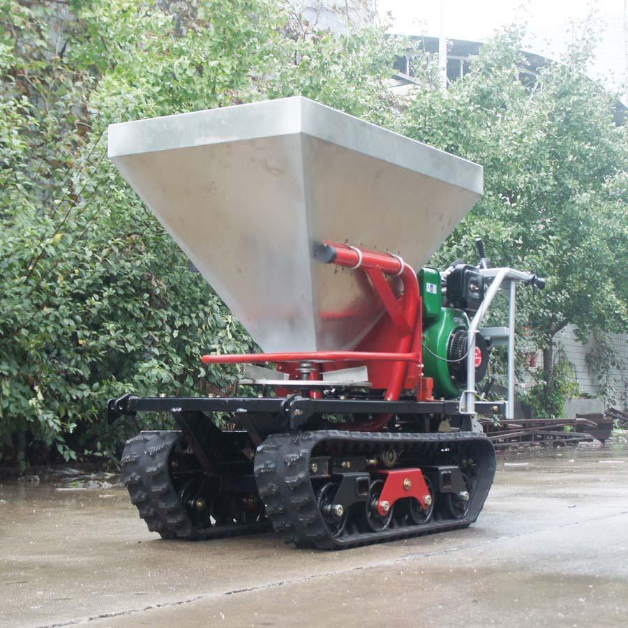 履带柴油自走式液压马达撒肥机 8