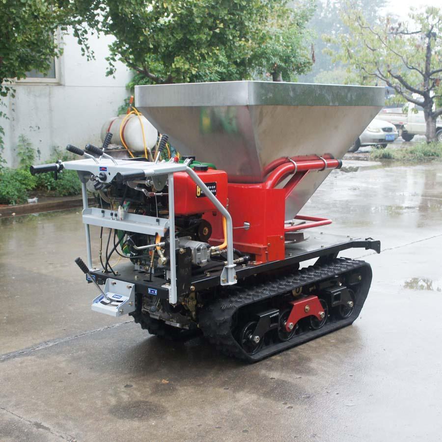 履带柴油自走式液压马达撒肥机 10