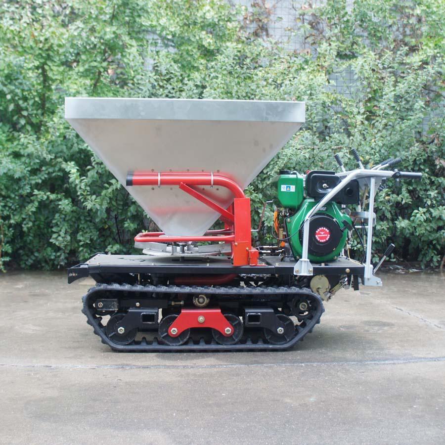 履带柴油自走式液压马达撒肥机 11