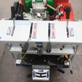 mini crawler type hydraulic motor drive fertilizer spreader 10