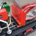 mini crawler type hydraulic motor drive fertilizer spreader 11
