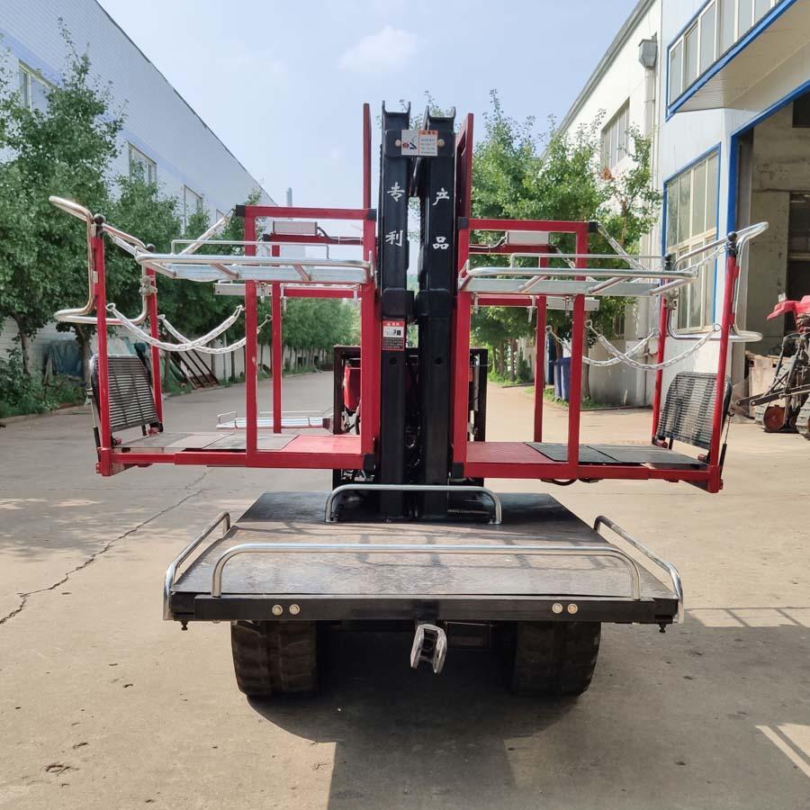 履带自走式柴油果园升降采摘工作平台 7