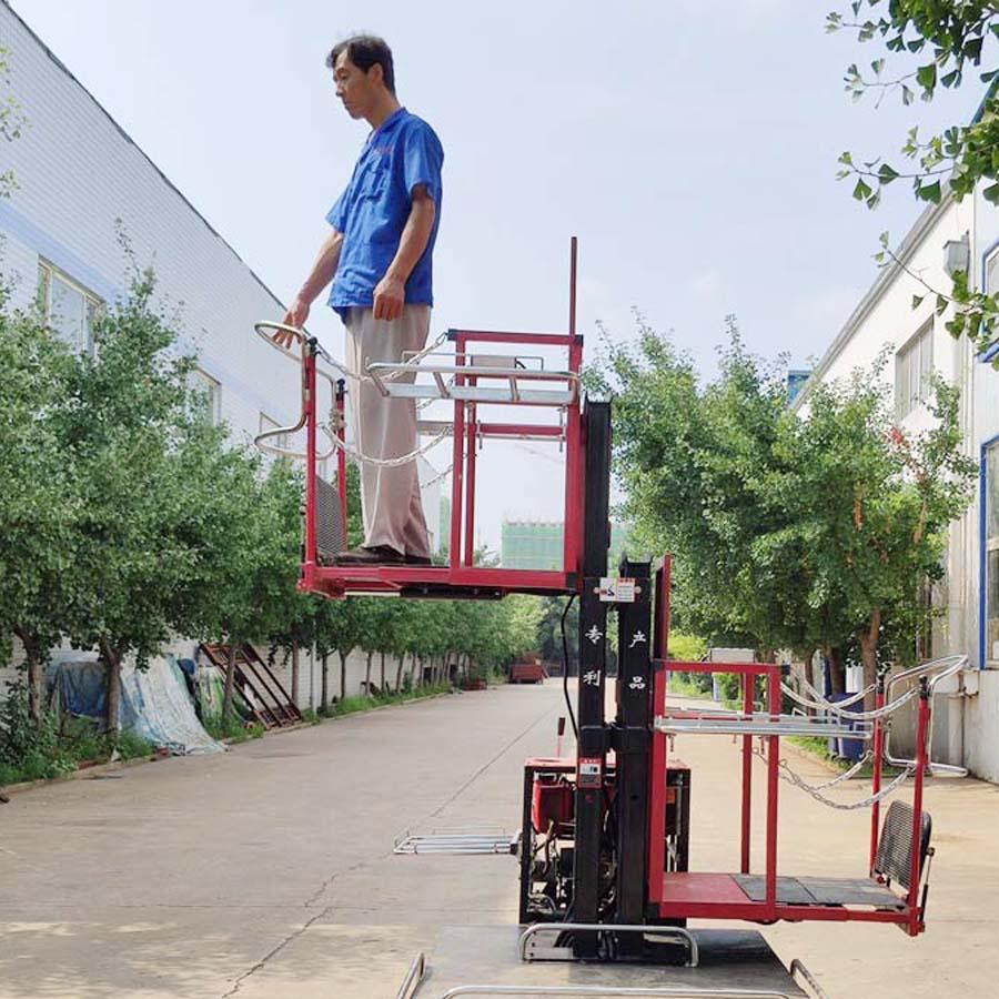 履带自走式柴油果园升降采摘工作平台 9