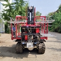 mini crawler type garden diesel engine work platform