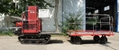 mini crawler type garden diesel engine work platform
