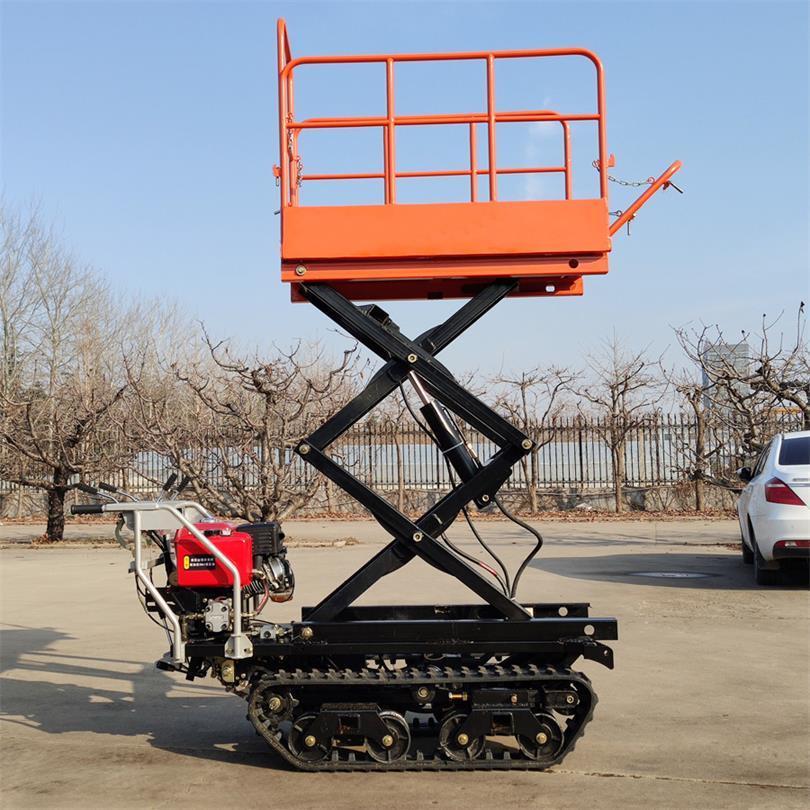 mini remote control crawler work platform  13