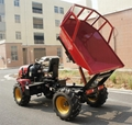 4WD Triangular Tracked transporter Tractor 10