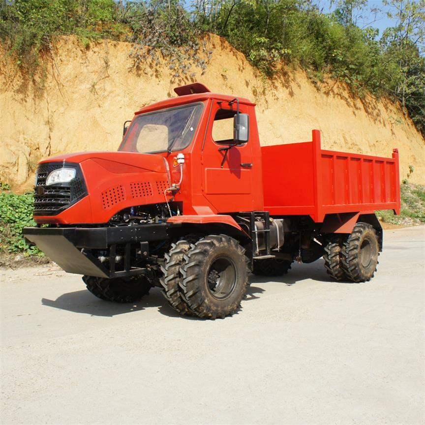 4WD Palm Garden wheel type transporter    16