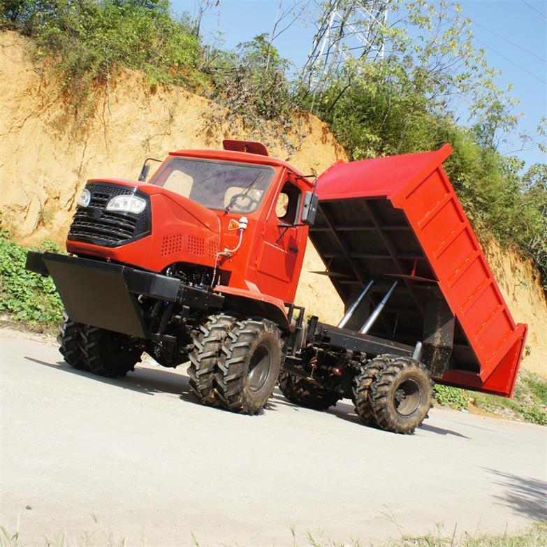 农用四驱棕榈园折腰转向运输型拖拉机 WY-5000 19