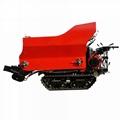 履帶大棚液壓馬達土肥撒肥機 11