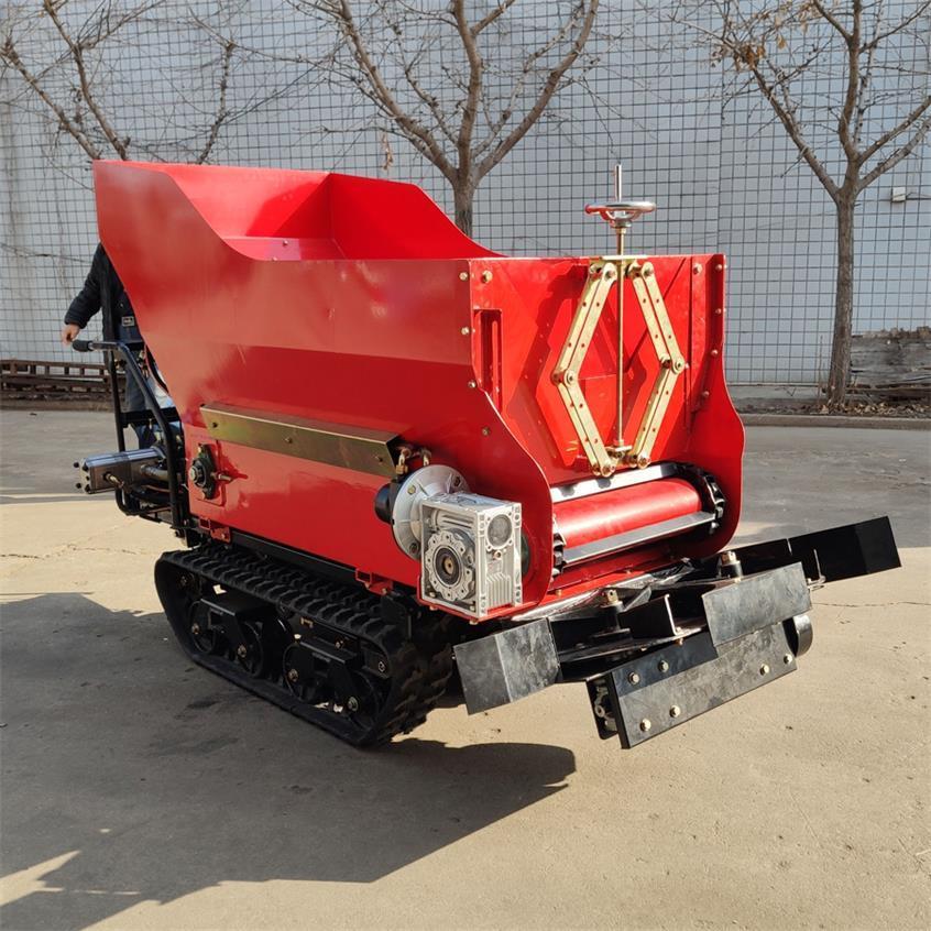 履带大棚液压马达土肥撒肥机 12