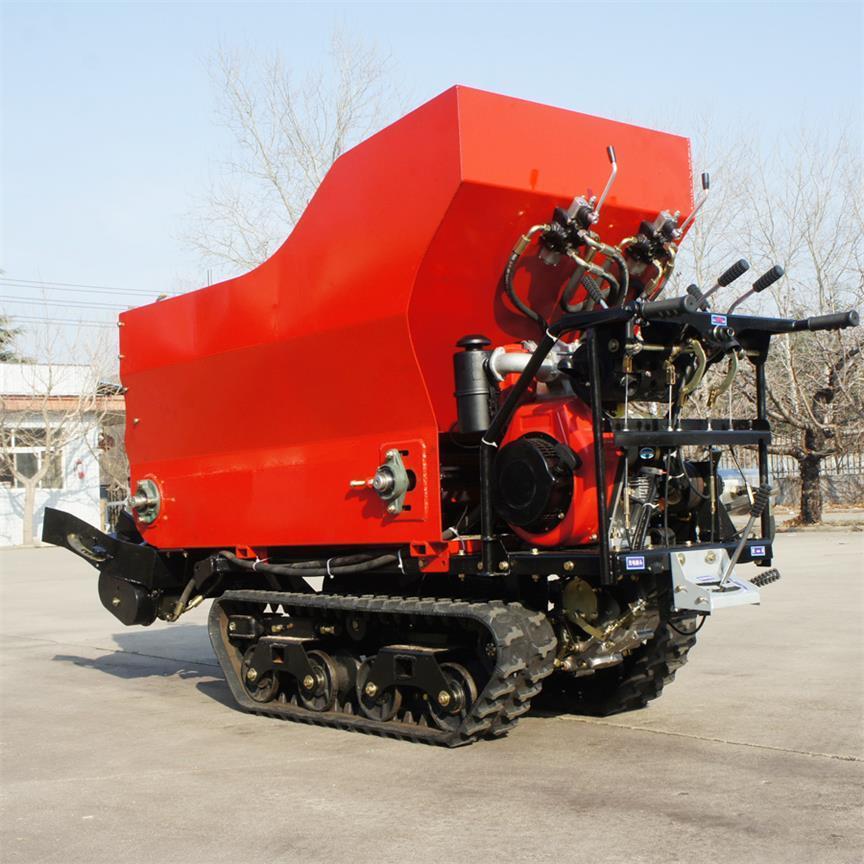 履帶大棚液壓馬達土肥撒肥機 13