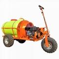 柴油輪式自走式果園風送迷霧打藥