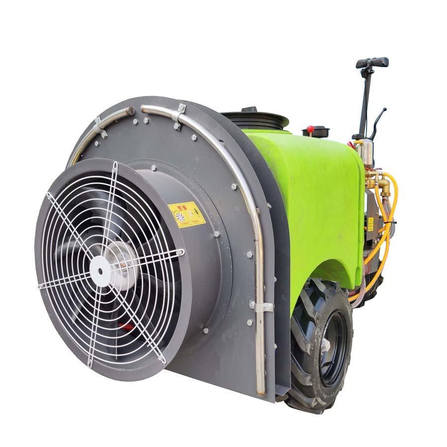 柴油輪式自走式果園風送迷霧打藥機 11