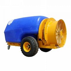 拖拉机牵引式果园风送喷雾机
